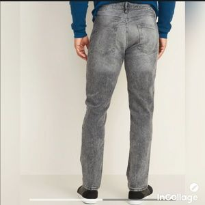 NWT Old Navy Slim Built In Flex Jeans Stonewashed